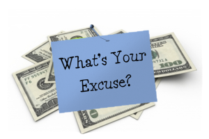 Money excuses
