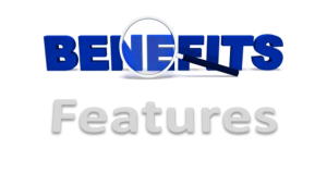 benefits vs features